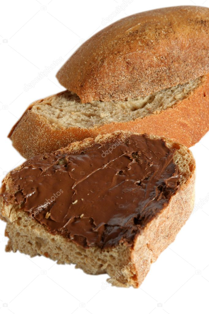 Chocolate bread — Stock Photo #7158846