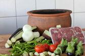 Et yemekleri — Stok fotoğraf