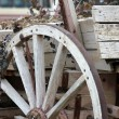Wooden cart — Stock Photo