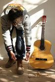 Guitarist — ストック写真