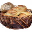 Bread basket — Stock Photo #7355096