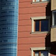 Stock Photo: Apartment block