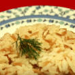 Rice pilaf — Stock Photo #7463388