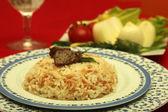 Rice pilaf — Stock Photo