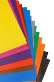 Color paper — Stock Photo
