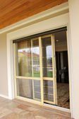 Patio Door — Stock Photo