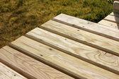 Wood table — Stock Photo