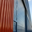 Aluminum siding — Stock Photo