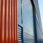 Aluminum siding — Stock Photo