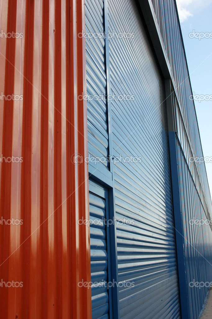 Aluminum siding  Stock Photo #7863065