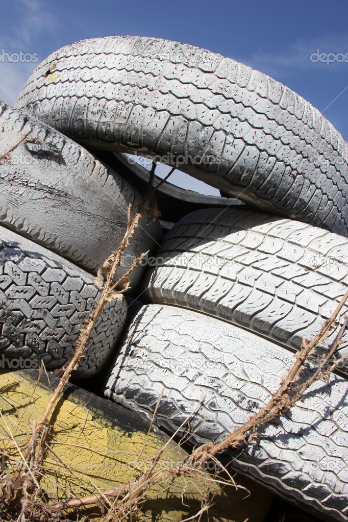 Old Tires   Stock Photo #7895784