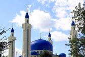 Paysage avec le temple de l'islam de la Russie du Sud — Photo