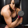 Fit Asian woman — Stock Photo