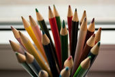 Colorful crayons — Stockfoto
