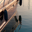 Morning port details — Stock fotografie