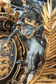 British coats of arms detail: unicorn — Stock Photo