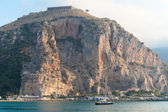 View of Terracina port, Italy in the morning — Stock Photo