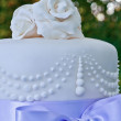 Wedding cake details — Stock Photo