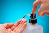 洗手 — 图库照片