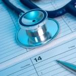 Medical exam planning — Stock Photo