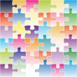 Royalty-Free Stock Vector Image: Puzzle background