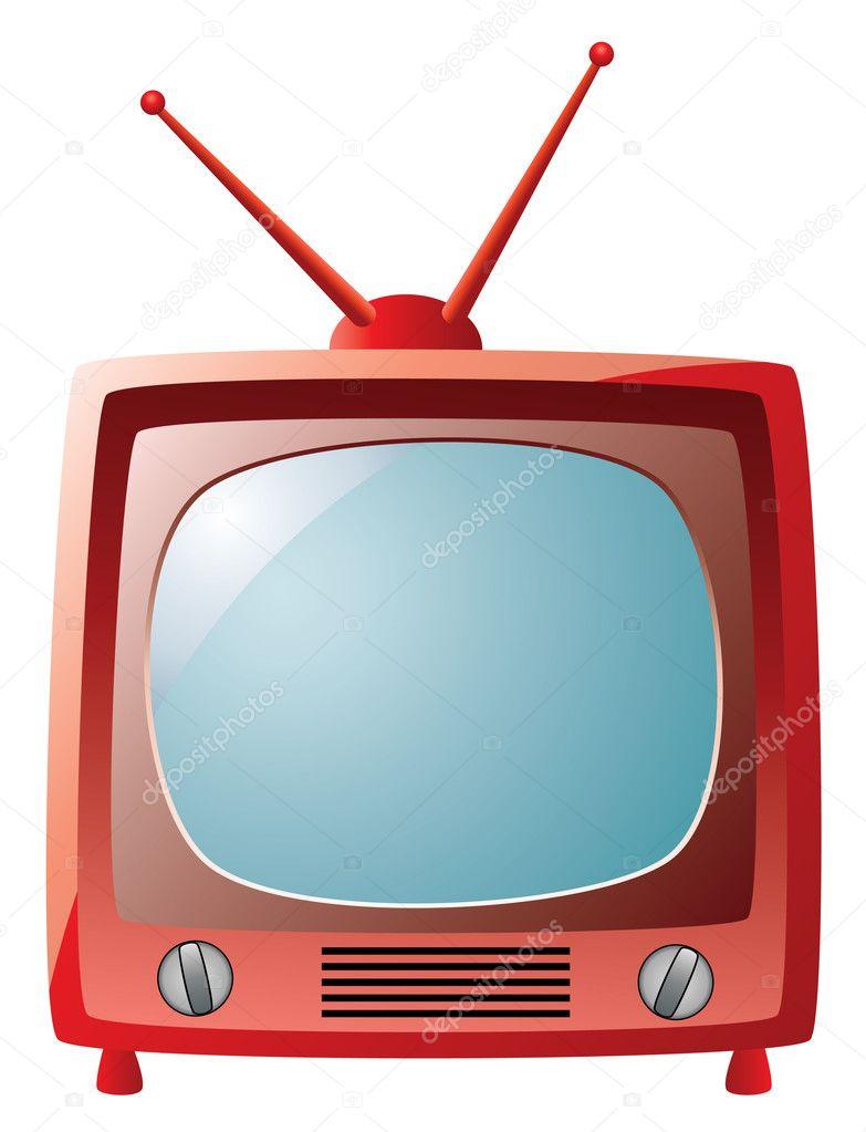 Televisor retro vector de stock dmstudio 6870516 for Fotos de televisores