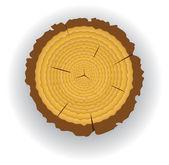 Taglio legno — Vettoriale Stock