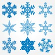 Snowflakes — Stock Vector #7353899