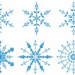 Snowflakes — Stock Vector #7363321