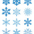 Snowflakes — Stock Vector #7363341