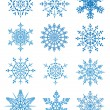 Snowflakes — Stock Vector #7363359