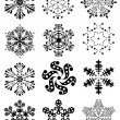 Snowflakes — Stock Vector #7418660