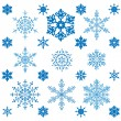 Snowflakes — Stock Vector #7418662