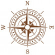 Stockvector : Compass