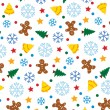 Winter holiday background — Stock Vector
