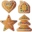 Gingerbread cookies — Stock Vector #7752559