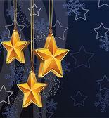 Vektor vintern semester dekoration — Stockvektor