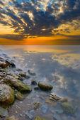 Beatiful colorful sunset — Stock Photo