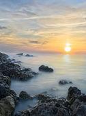 Yumuşak günbatımı — Stok fotoğraf