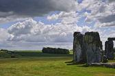 Stonehenge, en megalitiska monument i england byggdes runt 3000fkr — Stockfoto