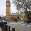 Big Ben and Houses of Parliament in London — 图库照片