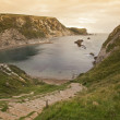 UNESCO World Heritage Site Jurassic Coast in Dorset England — Stock Photo