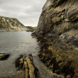 UNESCO World Heritage Site Jurassic Coast in Dorset England - Stock Photo