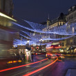 Regent Street Christmas Lights in London — Stock Photo