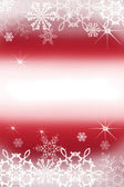 Illustration of Christmas background with snowflakes — Stock Photo
