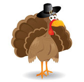 Vector Thanksgiving Turkey — Stock Vector
