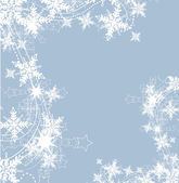 Snowflakes background — Stock Vector