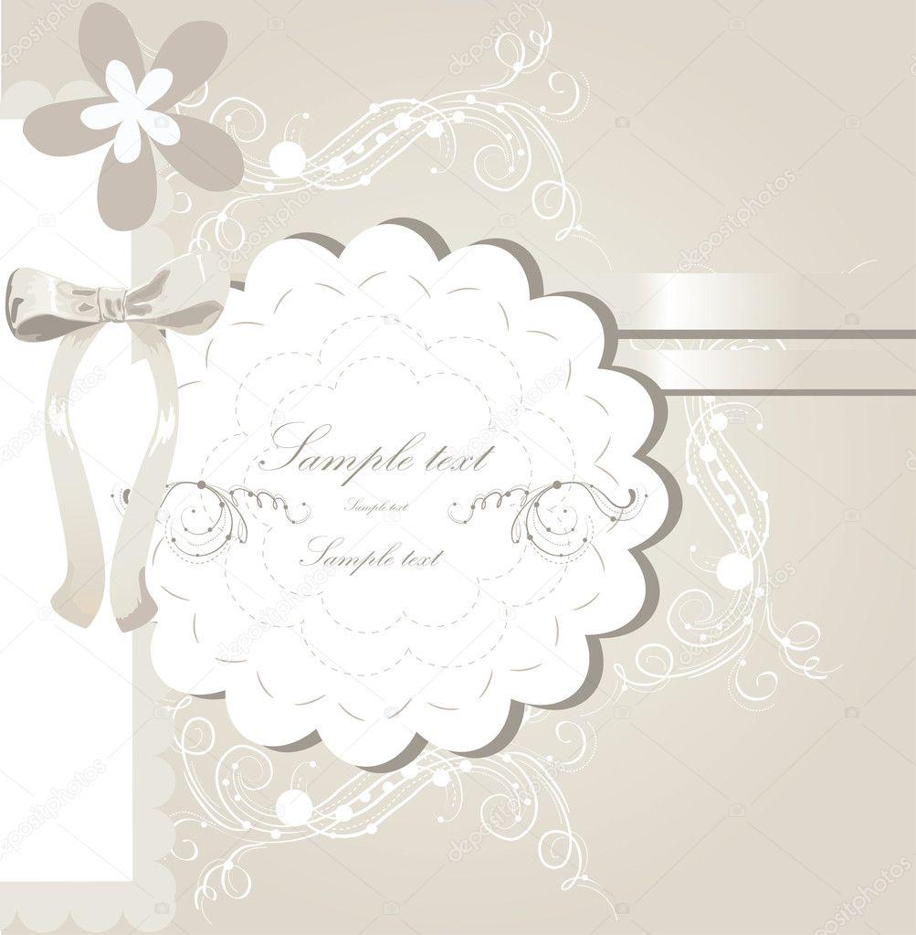 Wedding invitation card design Vector lindwa 7308168 – Marriage Invitation Cards Design