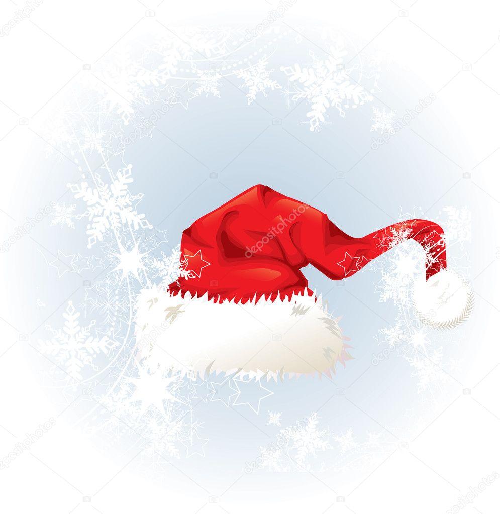 圣诞老人帽子 — 矢量图片作者