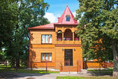 Wooden Suburban Home — Stock Photo